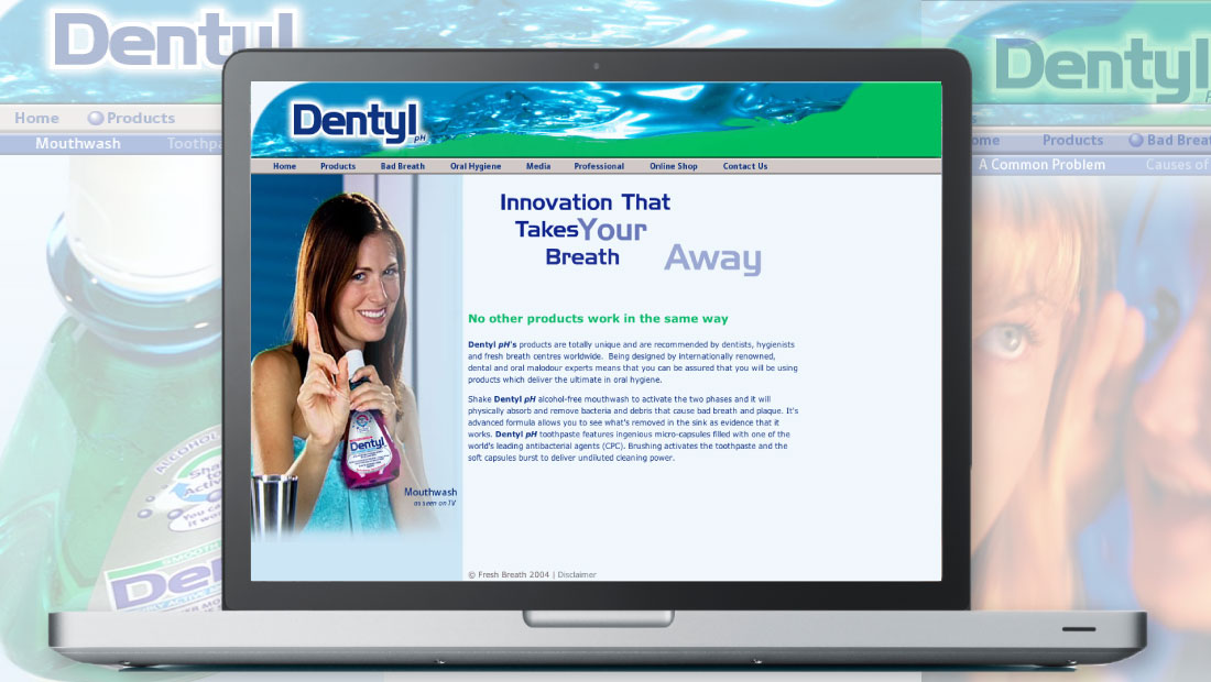 DENTYL MOUTHWASH
